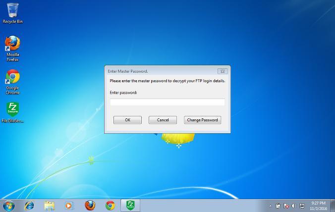 FileZilla Secure - 加入了主密码的FileZilla分支客户端