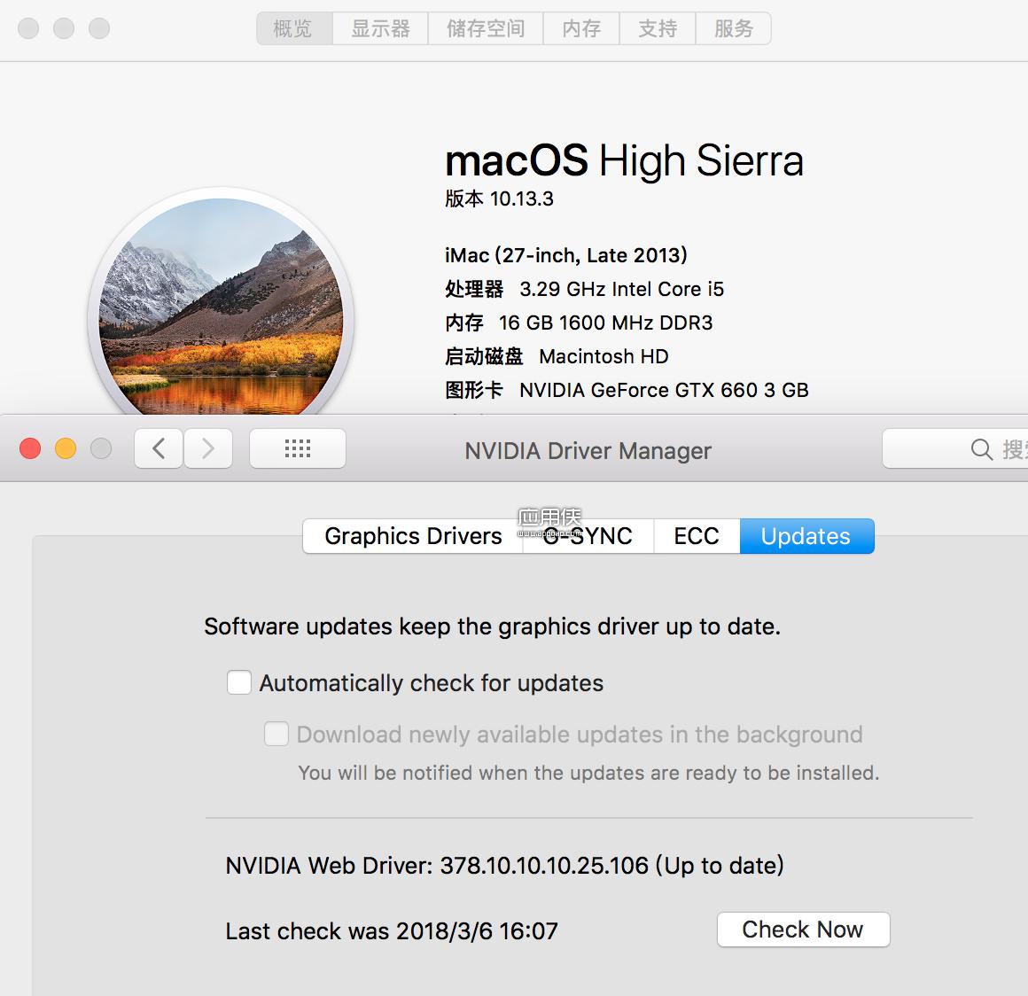 NVIDIA Webdriver All Versions - macOS 安装旧款显卡驱动